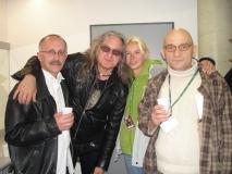 Grzegorz Markowski, Agnieszka Jaworska, Adam Galas [†]